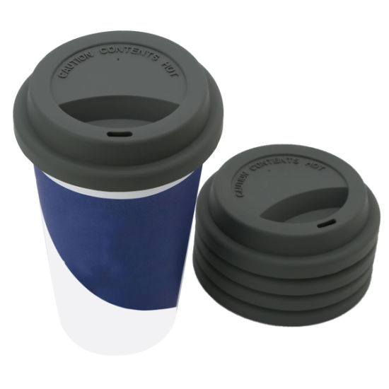 Whoesale Reusable Silicone Milk Mug Sleeve Coffee Cup Lids