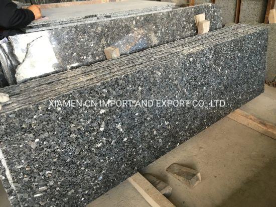 China Norway Natural Stone Silver Pearl Blue Pearl Emerald Pearl Granite Slab China Silver Pearl Granite Blue Pearl Granite