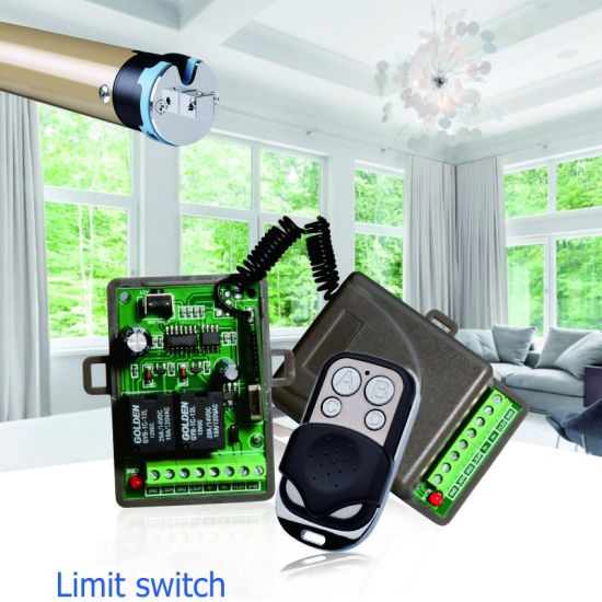 RF Remote Control Unit Switch with Limit Switch pictures & photos