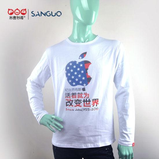 Bulk Wholesale White 2 Dollar Hot Design for Long Sleeve T Shirts