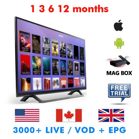 China Life/Time Us/UK/Arabic Original Supplier Android Box TV IPTV