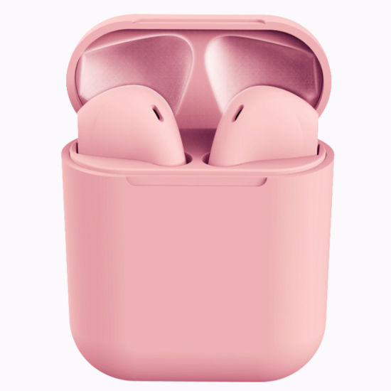 Free Sample Colorful Newest Touch Logo Printed Headset Wireless Earphone Tws 5.0 Wireless Earphone