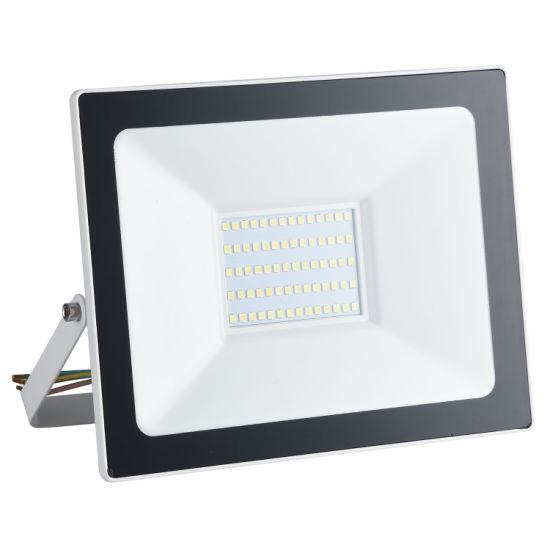 10W/20W/ 30W/ 50W/100W/150W/200W IP65 Waterproof Outdoor Slim SMD High Power LED Floodlight with High Lumen Streetlight TUV Ce &RoHS Flood Light