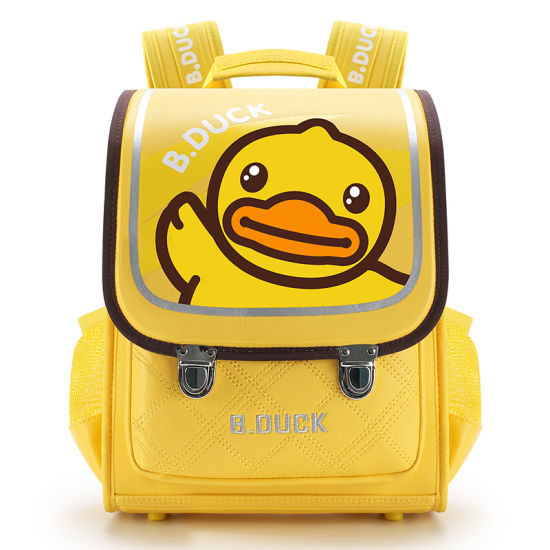 2021 Fashion Cartoon Duck Large Capacity Breathable Student Schoolbag Shoulder Backpack