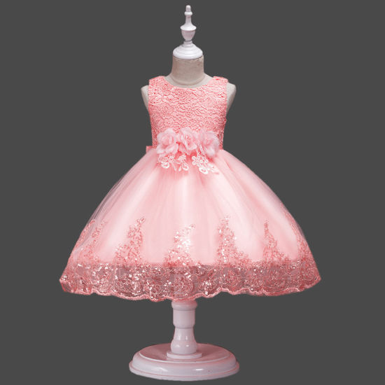 963f195d39cc 6 Color Wholesale Party Wear Dresses for 2-6 Years Girls