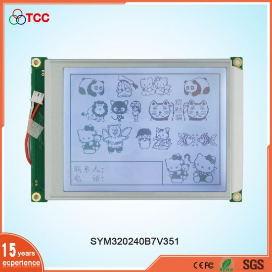 Tcc 5.7 Inch 320240/320X240 Graphic 20 Pin Ra8835 Controller LCD Display Module