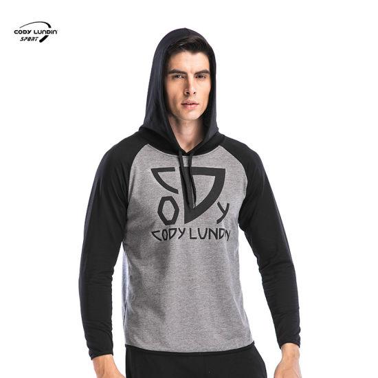 Cody Lundin Male Fitness Workout Fitness Sportswear Tracksuit Men Sports Running Sweatshirt Jackets Hoodies Long Sleeved Gym Coa