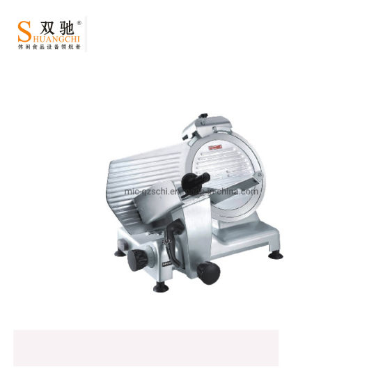 Food Processor Meat Cutting Machine Semi-Automatic Meat Slicer pictures & photos