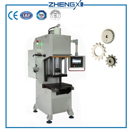 One Column Hydraulic Press Machine for Sheet Metal Stamping pictures & photos