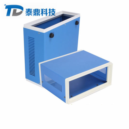 Plastic Frame Aluminum Alloy Chassis Control Power Supply Aluminum Box Shell Processing