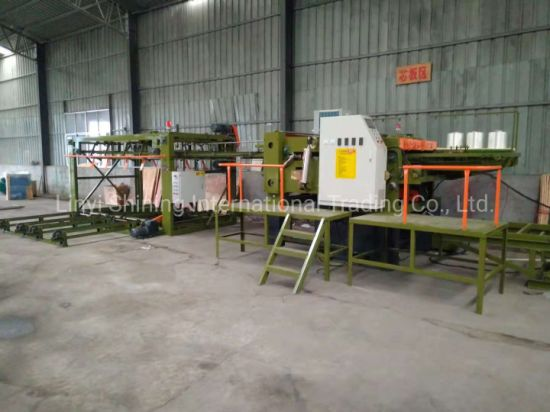 Linyi Woodworking Machine Plywood Core Veneer Composer Machinery with Siemens