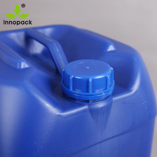 4 X 25 LITRE 25L NEW PLASTIC BOTTLE JERRY CAN WATER CONTAINER BLUE WHITE 4