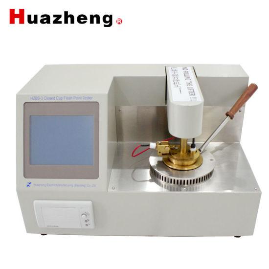 China Online Export Transformer Oil Melting Flash Point Testing Equipment