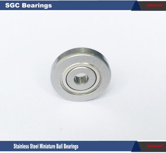 Deep Groove Ball Bearings with Metal Shielded, Radial Ball Bearings with Special Outer Dia 0.54~0.88 Inch