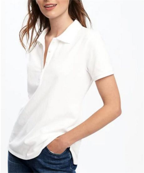 Wholesale Women New Design Polo Shirt pictures & photos