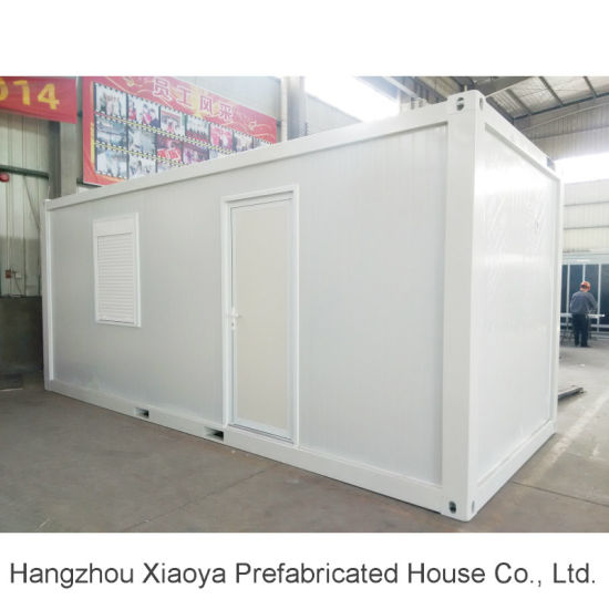 Steel Section Modular Prefab Flat Pack Container House with Bathroom