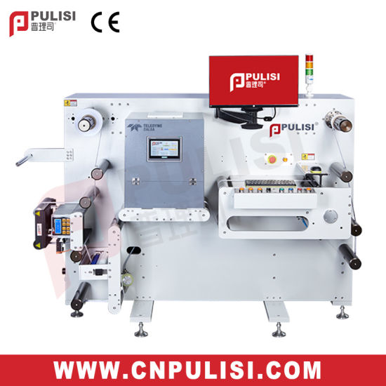Higjh Quality Textile Label Inspection and Rewinding Machine