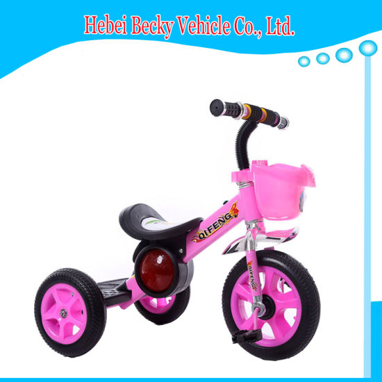 China Wholesale Kids Baby Tricycle with Music Children Bike Scooter pictures & photos