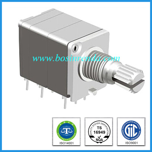 Multi-Gang Rotary Potentiometer Metal Shaft for Amplifier pictures & photos