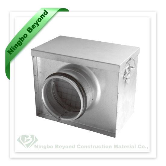 Ventilation Duct Plenum Box for Air Ductwork