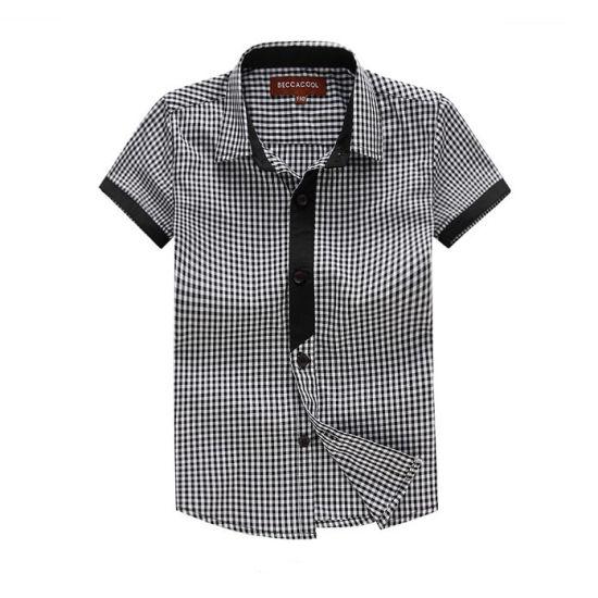 Hot Sale 100% Cotton Children Shirts