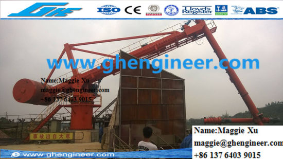 Cement Handling Screw Type Ship Unloader pictures & photos