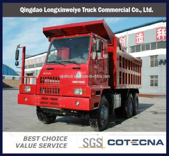 Top Quality Sinotruk 6X4 60ton Mining Dump Truck