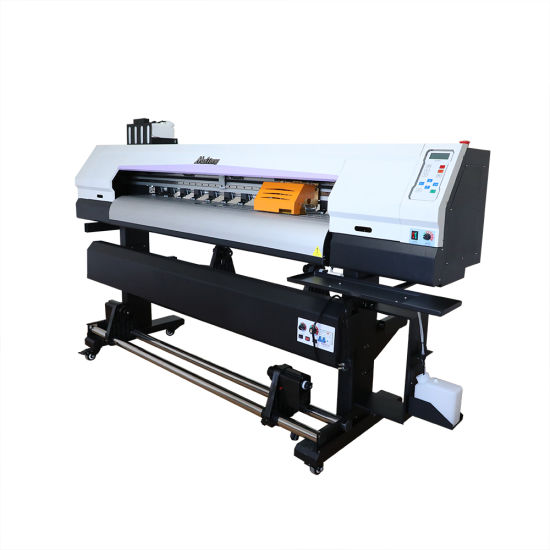 Cheap Large Format Digital Inkjet Eco Solvent Printer with Two Print Head
