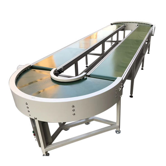 Belt Packing Production Line Fixed Belt Table Conveyor System