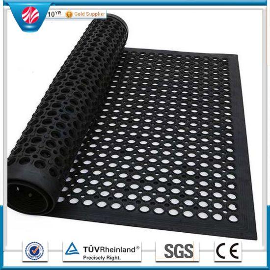 China work safety anti fatigue cellar gym garage rubber flooring