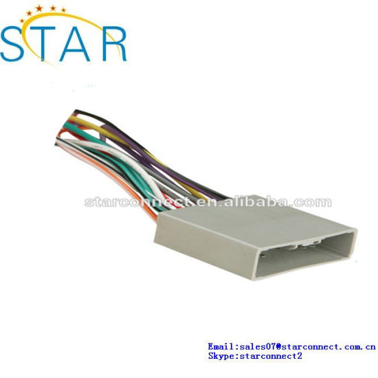 China Wholesale Automobile Replacement ISO Wiring Harness for Honda on auto wiring harness kits, auto wiring harness replacement, auto outside temperature sensor, auto wire four-wire, auto mobile water pump, auto mobile tail lights, auto reset breaker, auto stereo wiring harness, auto wire assortment, auto mobile voltage regulator,