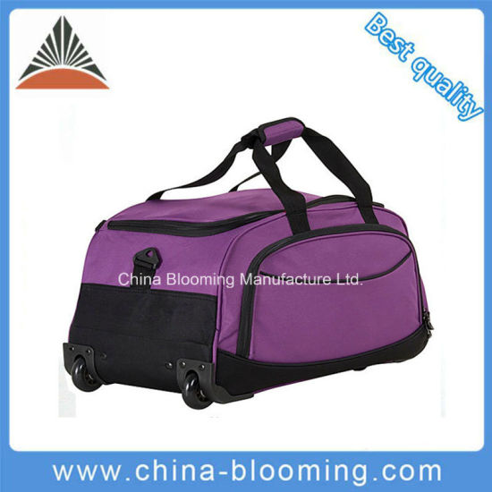 Outdoor Sports Gym Trolley Wheeled Holdall Travel Duffel Bag pictures    photos 998fe34cab963