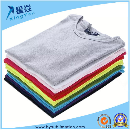 by-101# Modal Round Neck Sublimation T-Shirt pictures & photos