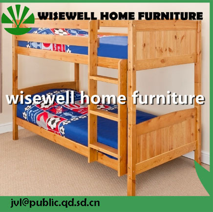 Solid Pine Wood Detachable Bunk Bed for Kids (WJZ-B725) pictures & photos