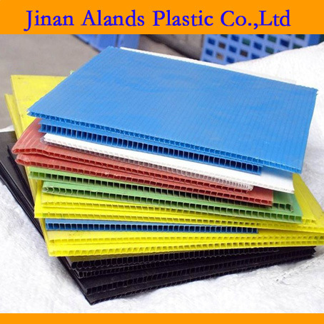 Colorful PP Corrugated Hollow Plastic Sheet pictures & photos