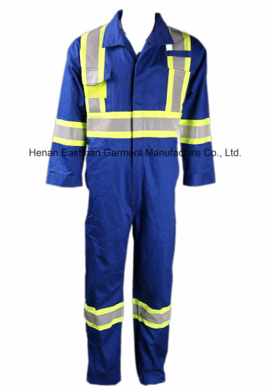 UL Certificate Arc and Flash Fire Resistant Coverall