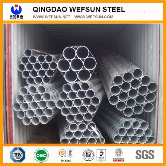 5.8m Threaded Hot Dipped Galvanized Steel Pipe pictures & photos