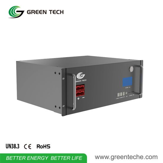Solar System Base Station Batteries Li-ion Energy Storage Pack Industry UPS Lithium Ion Cell Graphene Battery