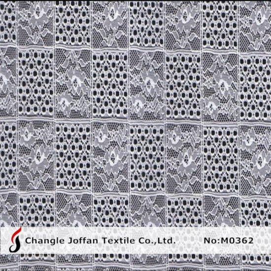 Unique Elastic Lace Fabric for Sale (M0362)