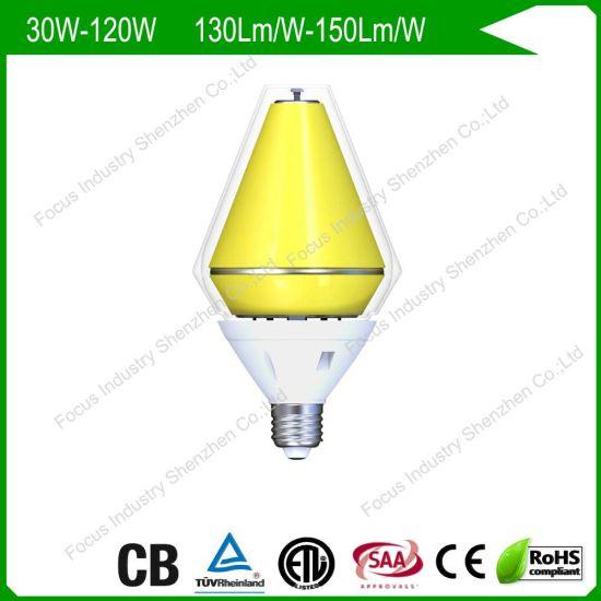 100W TUV CB LED/Fled Corn Lamp/Light/Bulb 250W/400W HID/HPS/Mhl Retrofit/Replacement Sports Spots