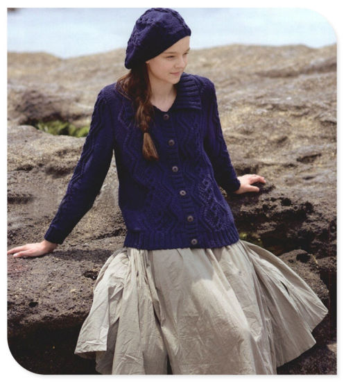 e46891557e China Ladies′ Retro Style Knitwear Pure Cashmere Knitting Cardigan ...
