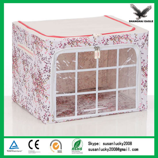 Simple Used Dustproof Oxford Nonwoven Storage Box pictures & photos