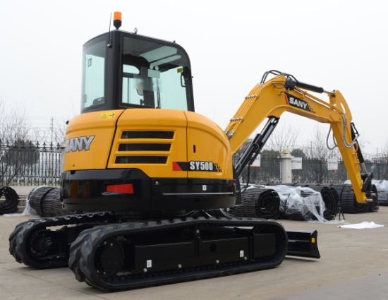 Sany Sy55 Crawler Small Earth Moving Machinery Excavator pictures & photos
