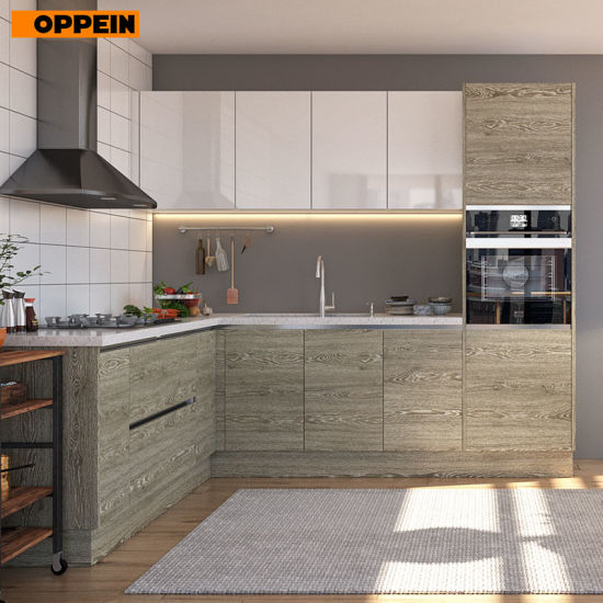 Melamine Board Particleboard Laminate Finish And Wall Cabinets Type Kitchen Pictures Photos