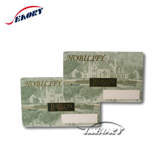 Low Price Cr80 Blank Contact Rewritable Plastic Smart Card with Sle5542/ Sle 4428 IC Chip pictures & photos