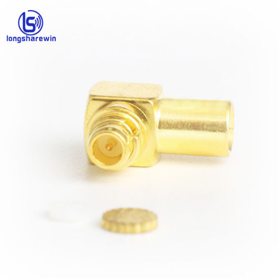 Antenna Cable Connector MCX Male right angle RG-174 100