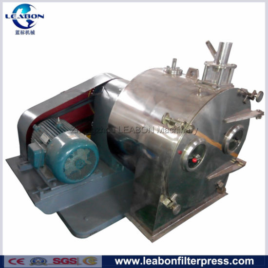 Continuous Discharge Pusher Centrifuge for Sodium Chloride