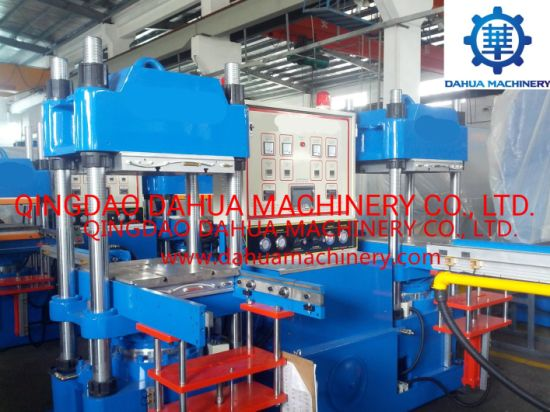 150ton Flat Suspension Double Working Station Rubber and Silicone Molding Machine