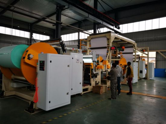 Rotary Bar Die Hot Melt Coating Machine Hot Melt Coater pictures & photos