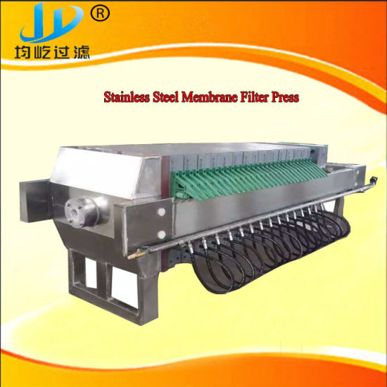 Stainless Steel Automatic Membrane Filter Press